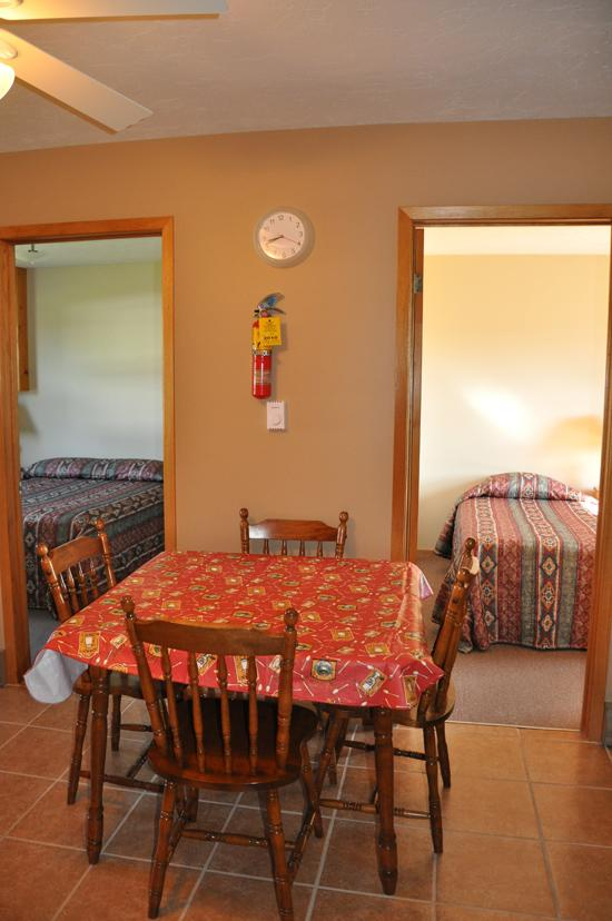 Vacation kitchen and rooms